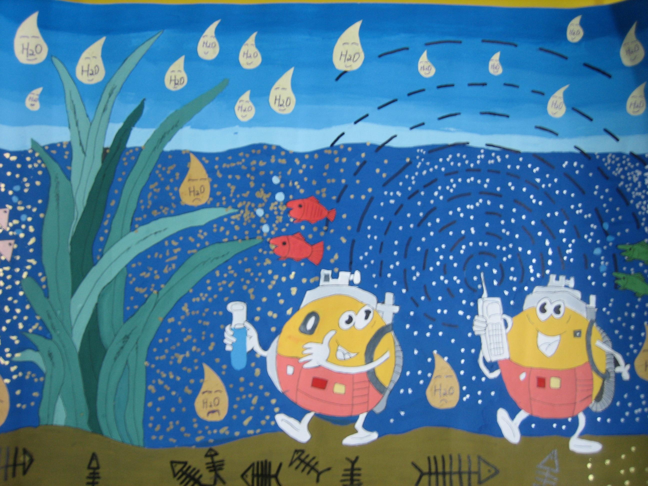 五年级科幻画获奖作品_科幻画 国家一等奖_儿童科幻画优秀作品_幼儿图片
